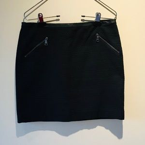 NWOT BANANA REPUBLIC BLACK MINI SKIRT